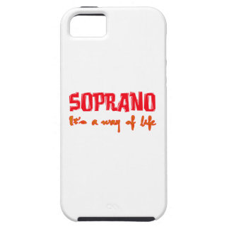 Soprano It's a way of life iPhone 5 Covers