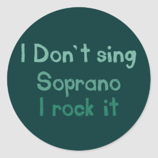 Soprano Rock It Stickers