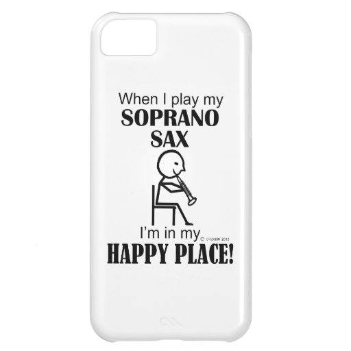 Soprano Sax Happy Place iPhone 5C Covers