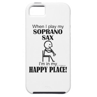 Soprano Sax Happy Place iPhone 5 Cases