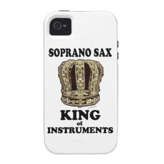 Soprano Sax King of Instruments Case-Mate iPhone 4 Covers
