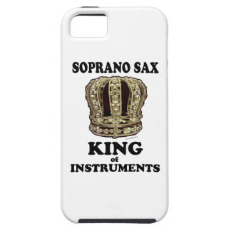 Soprano Sax King of Instruments iPhone 5 Cases