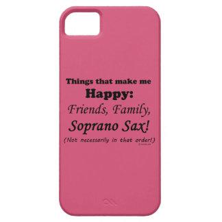 Soprano Sax Makes Me Happy iPhone 5 Covers