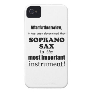 Soprano Sax Most Important Instrument iPhone 4 Cover