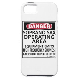 Soprano Sax Operating Area iPhone 5 Covers