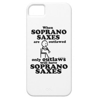 Soprano Saxes Outlawed iPhone 5/5S Covers