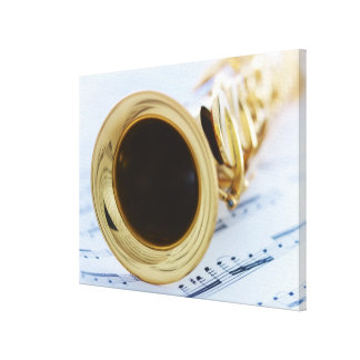 Soprano Saxophone Canvas Print