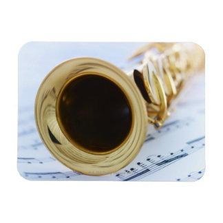 Soprano Saxophone Magnet