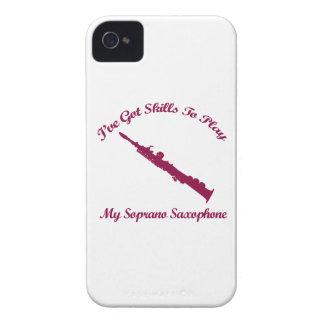 soprano saxophone musical designs iPhone 4 case