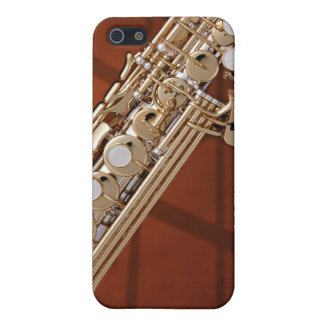 Soprano Saxophone On Gold iPhone 5 Cover