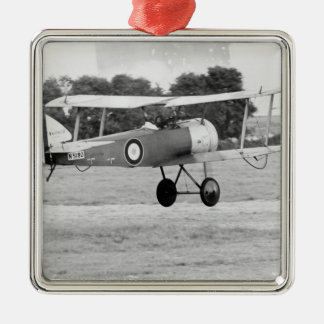 Sopwith Aircraft Taking Off Christmas Ornament