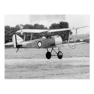 Sopwith Aircraft Taking Off Postcard