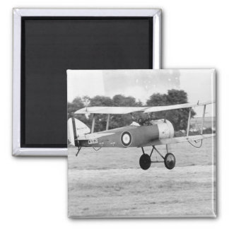 Sopwith Aircraft Taking Off Square Magnet