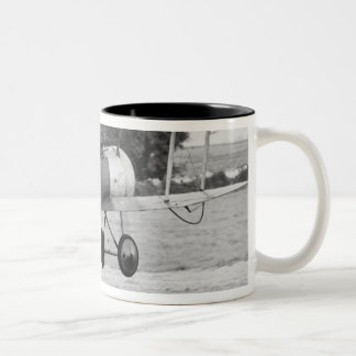 Sopwith Aircraft Taking Off Two-Tone Coffee Mug