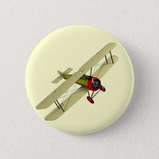 Sopwith Camel Biplane 6 Cm Round Badge