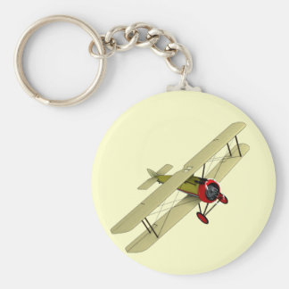 Sopwith Camel Biplane Key Ring