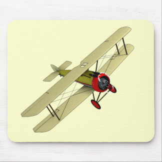 Sopwith Camel Biplane Mouse Mat