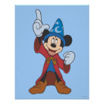 Sorcerer Mickey Mouse Print