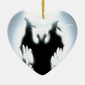 Sorcerer's Design Ceramic Heart Decoration