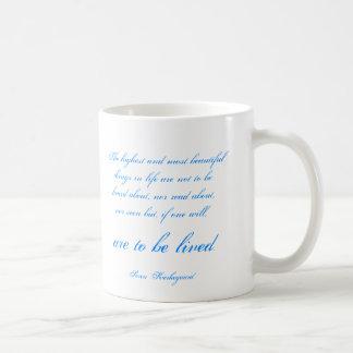 Soren Kierkegaard Basic White Mug