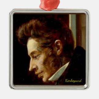 Soren Kierkegaard portrait Christmas Ornament