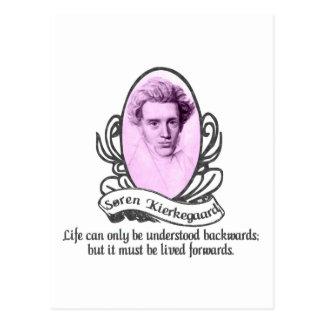 Søren Kierkegaard Postcard