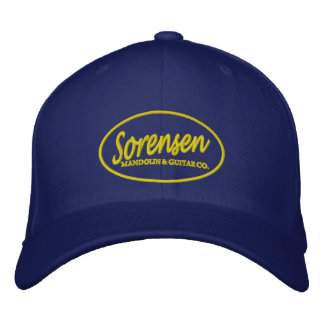 Sorensen Mandolin & Guitar Co hat Embroidered Hats