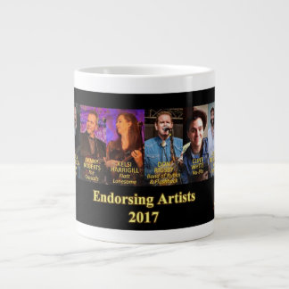 Sorensen Mandolins Endorsing Artists, Spring 2017 Giant Coffee Mug