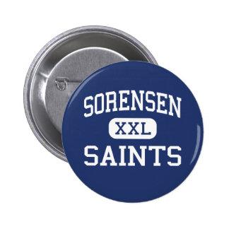Sorensen Saints Middle Saint Croix Falls 6 Cm Round Badge