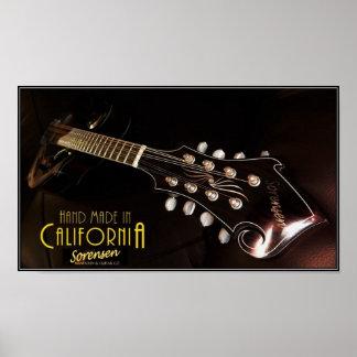Sorensen VX mandolin Poster