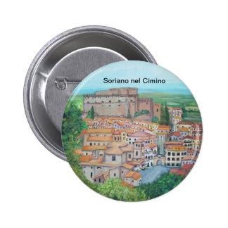 Soriano nel Cimino, Italy - Button