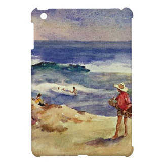 Sorolla - Boy on the Sand iPad Mini Cases