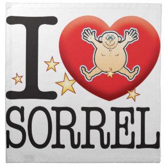 Sorrel Love Man Napkin