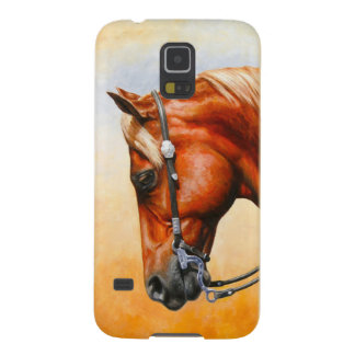 Sorrel Western Pleasure Quarter Horse Galaxy S5 Covers