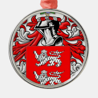 Sorrells Coat of Arms Silver-Colored Round Decoration