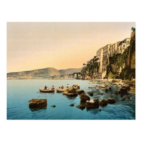 Sorrento by the sea, Naples, Italy classic Photoch