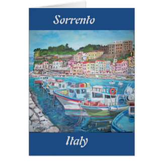 Sorrento, Italy - Greeting Card