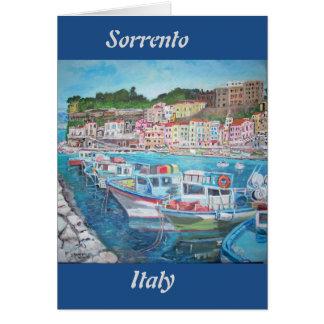 Sorrento, Italy - Greeting Card