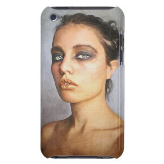 Sorrow classic oil portrait painting lady woman iPod touch cover