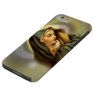 Sorrowful Blessed Virgin Mary in Prayer Tough iPhone 6 Plus Case