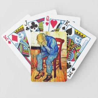 Sorrowing Old Man By Van Gogh Bicycle Playing Cards