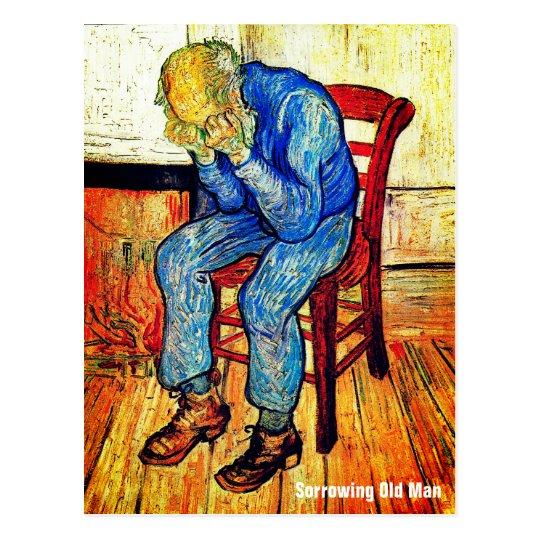 Sorrowing Old Man By Van Gogh Postcard
