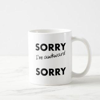 Sorry Awkward Sorry Funny Mug