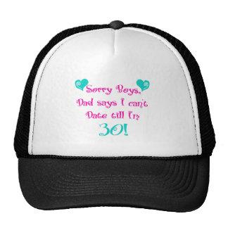 Sorry Boys Mesh Hats