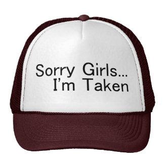 Sorry Girls Im Taken Cap