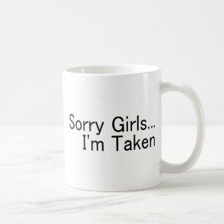 Sorry Girls Im Taken Coffee Mug