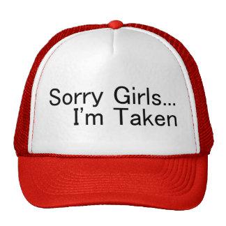 Sorry Girls Im Taken Hats