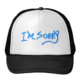 sorry hat