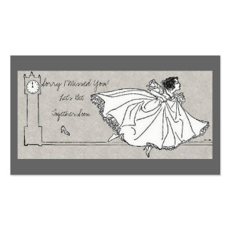 Sorry I Missed You - Cinderella Theme Pack Of Standard Business Cards