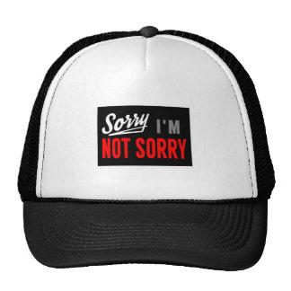 Sorry, I'm Not Sorry Mesh Hats
